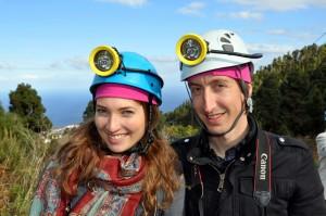 Ingrid og Erik klare for gruveekspedisjon