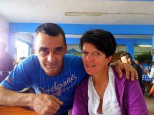Verdens hyggeligste kelner, Santi, og Mama Twiga
